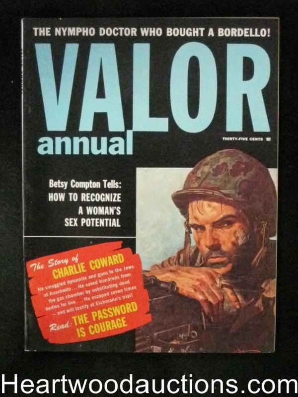 Valor Annual 1960 George Gross cover, Jay Scott Pike