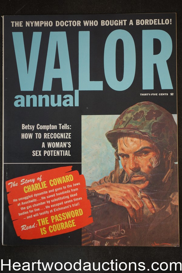 Valor Annual 1960 George Gross cover, Jay Scott Pike - Ultra High Grade- NAPA