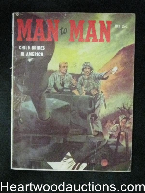 Man to Man May 1953 Jonathan Craig 1st appearence