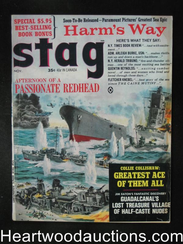 Stag Nov 1964 Charles Copeland, Sue Lyons-2 pages, James Bassett