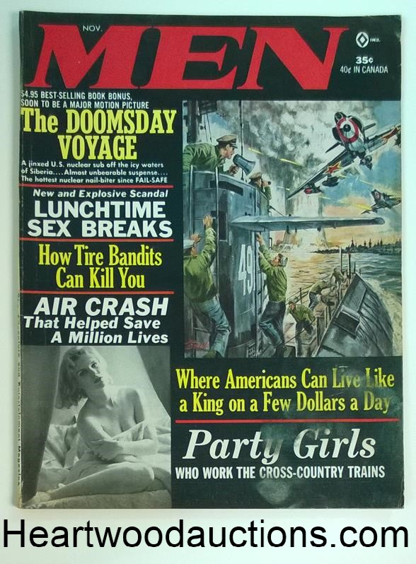 Men Nov 1964 Gil Cohen, Gabrielle Welsh, Samson Pollen,Witchhcraft, Mexico