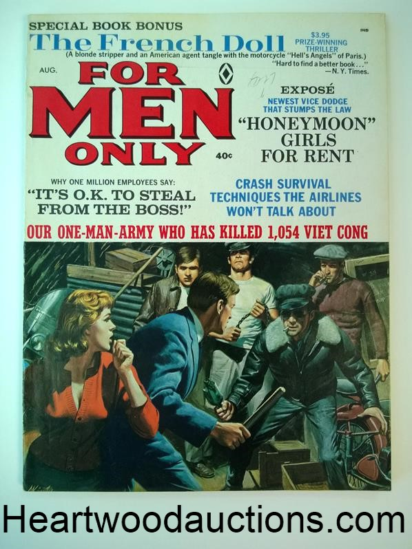 For Men Only Aug 1966 Ursula Ardress; Diana Rigg; Vietnam War; Neil Armstrong - High Grade
