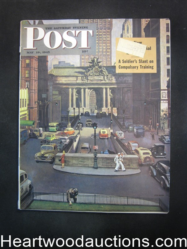 Saturday Evening Post May 19, 1945 Luke Short, John Falter Cvr