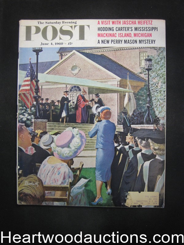 Saturday Evening Post Jun 4, 1960, Erle Stanley Gardner Perry Mason