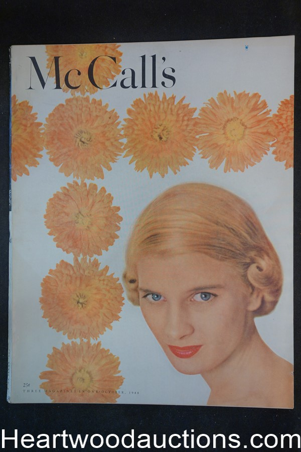 McCall's Oct 1948 Princess Elizabeth,  Alex Ross; Robert G. Harris, Jon Whitcomb