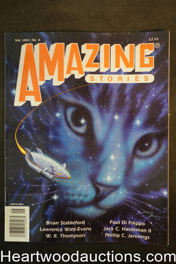 Amazing Stories Oct 1991 David Martin Cover - Ultra High Grade