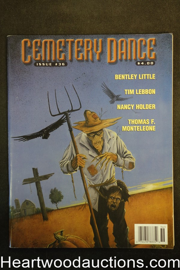 Cemetary Dance Oct 2001, Nancy Holder  - High Grade