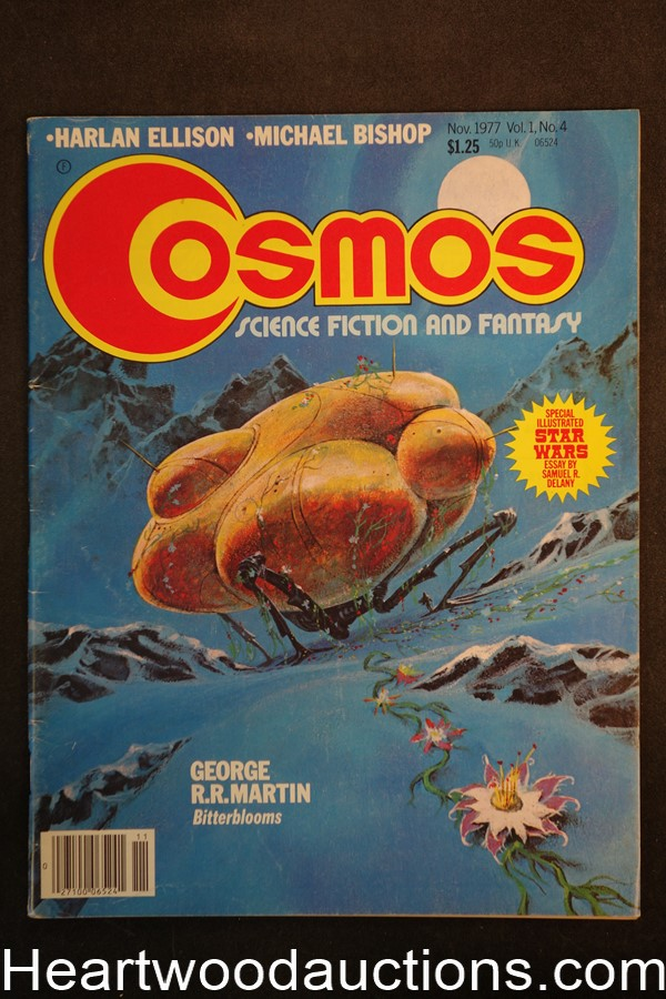 Cosmos Nov 1977 Jack Gaughan Cover - High Grade
