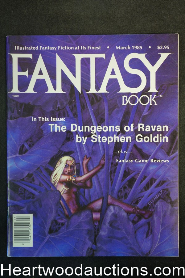 Fantasy Book Mar 1985 C. L. Healy Cover - Ultra High Grade