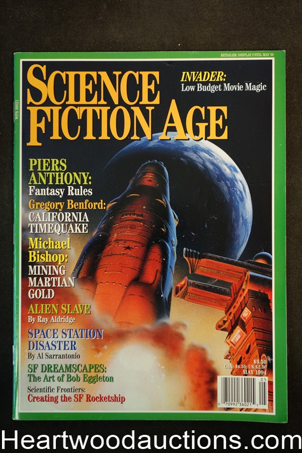 Science Fiction Age May 1994 Chris Moore Cover - Ultra High Grade