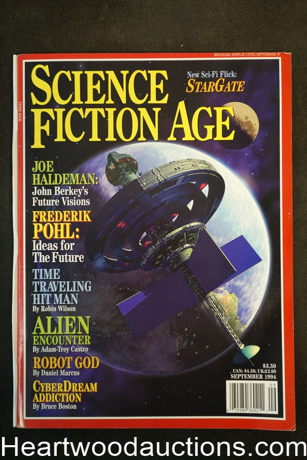 Science Fiction Age Sep 1994 - Ultra High Grade