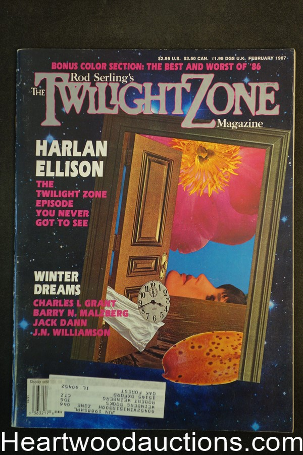 Twilight Zone Feb 1987 Trevor Irvin Cvr, Donald Westlake, Barry Malzberg,  - High Grade