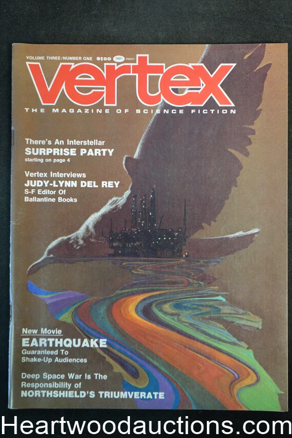 Vertex Apr 1975 Tony Yamada Cover - High Grade
