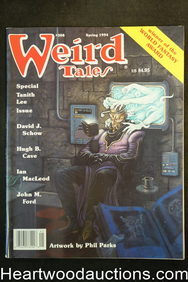 Weird Tales Spring 1994 Tanith Lee, Hugh Cave,Phil Parks Cover - Ultra High Grade