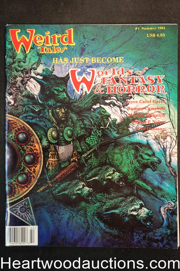 Weird Tales Summer 1994 Ramsey Campbell, William Nolan, Ian Miller Cover - Ultra High Grade