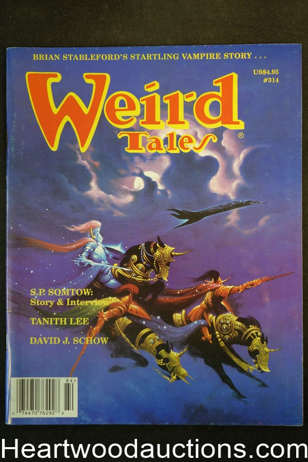 Weird Tales Fall 1998 Stephen Fabian Cover, Tanith Lee - Ultra High Grade