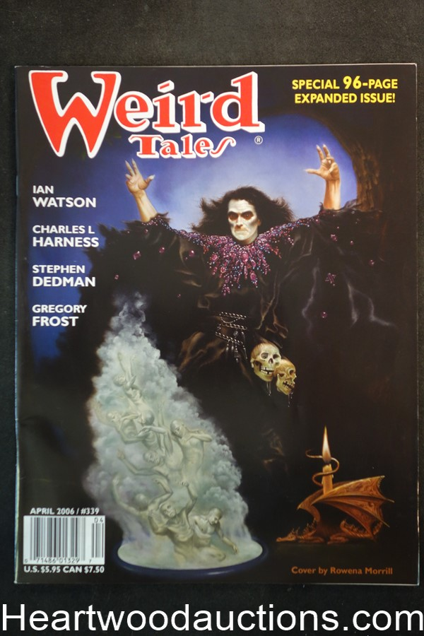 Weird Tales Apr 2006 Rowena Morrill Cover - Ultra High Grade