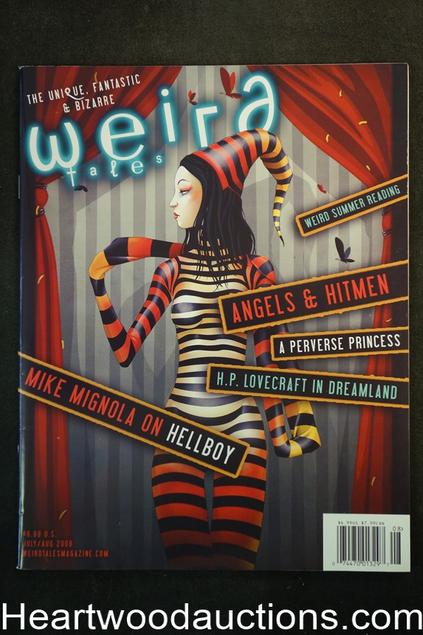 Weird Tales Jul 2008 Jason Levesque Cover - Ultra High Grade
