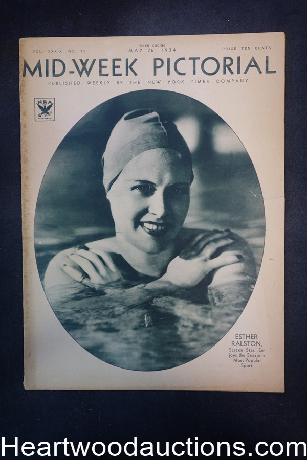 N.Y. Times Mid-Week Pictorial May 26, 1934 Esther Ralston
