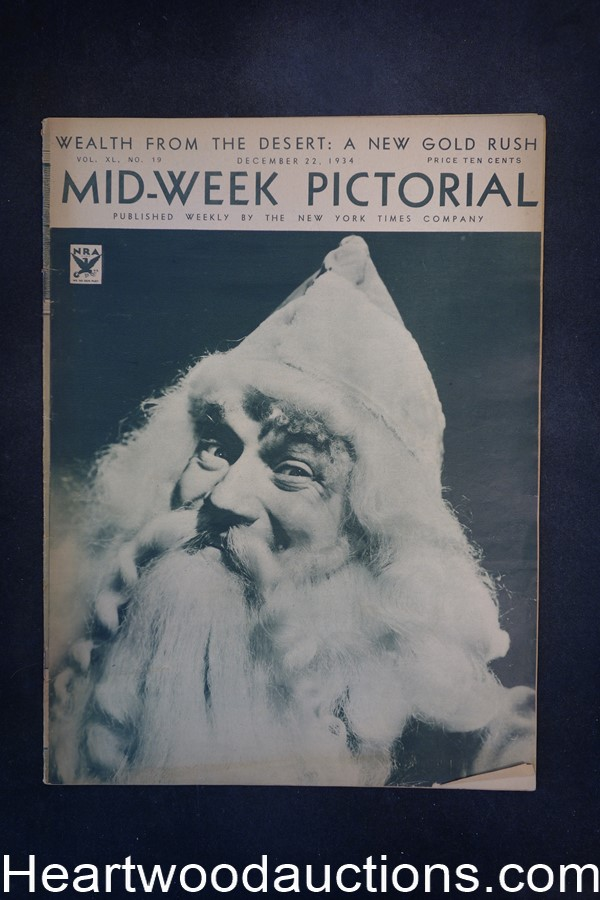 N.Y. Times Mid-Week Pictorial Dec 22, 1934 The