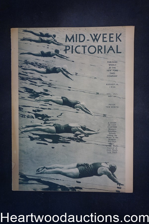 N.Y. Times Mid-Week Pictorial Aug 10, 1935 A study in starting fast