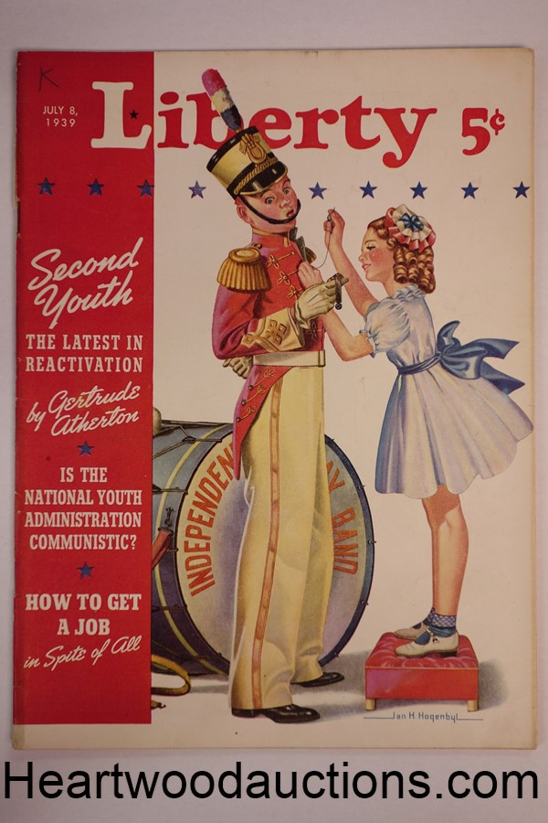 Liberty Jul 8, 1939, King George VI, development of televison