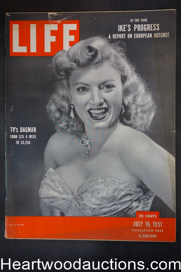 Life Jul 16, 1951 Dagmar, Atom Bomb tests, Rosemary Clooney