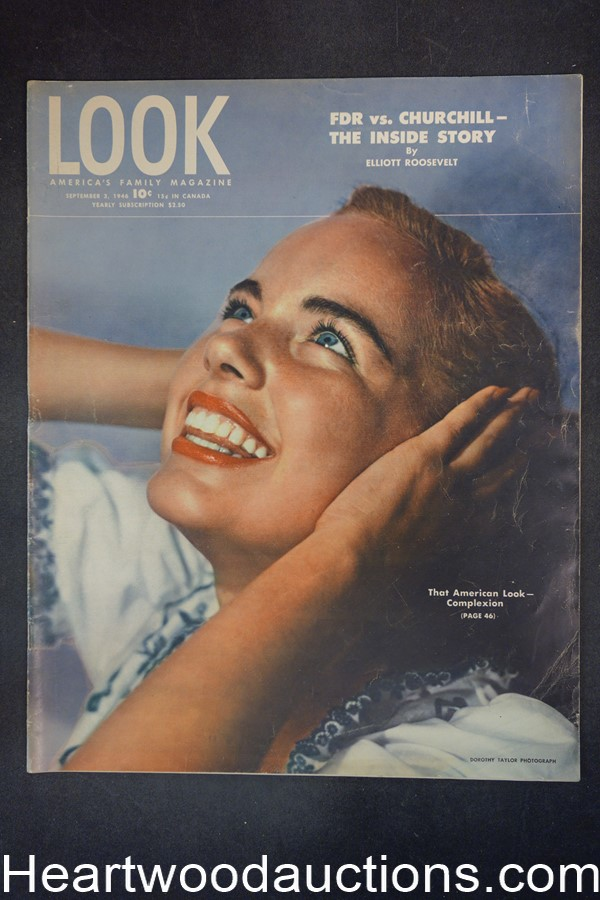 Look Sep 3, 1946 Lawrence Olivier, Superman, Billie Holiday, Hitchcock?s Notorious