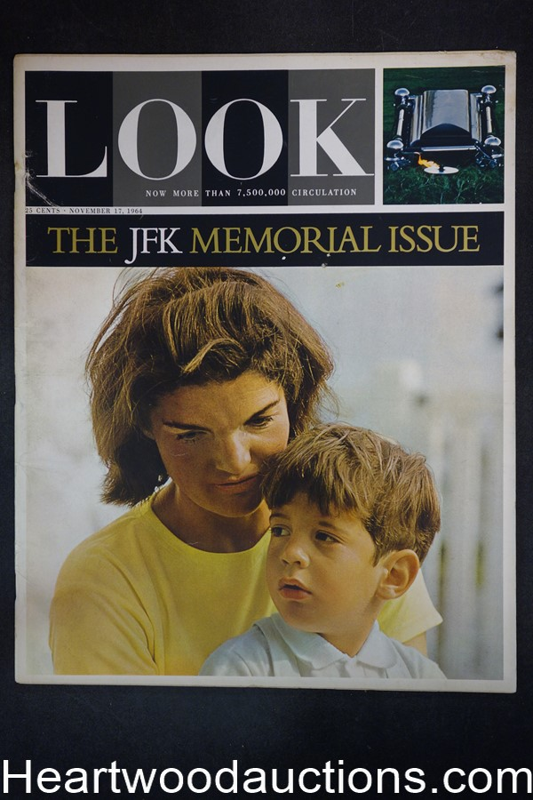Look Nov 17, 1964 JFK Memorial issue