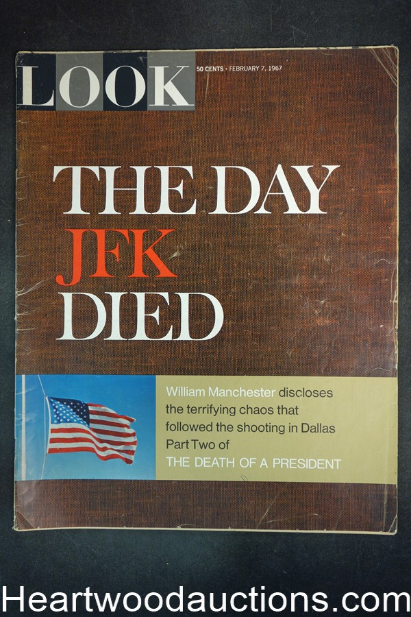 Look Feb 7, 1967 ?The Day JFK Died?, Jack Lemmon