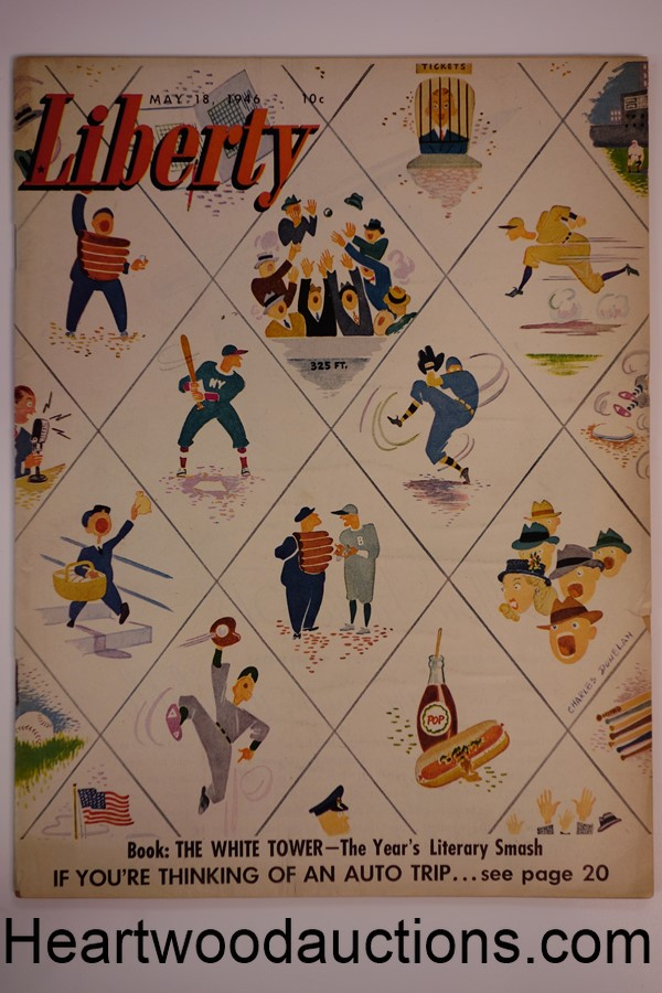 Liberty May 18, 1946 Isabella Taves, Mel Blanc, Japanese women, bullfighting