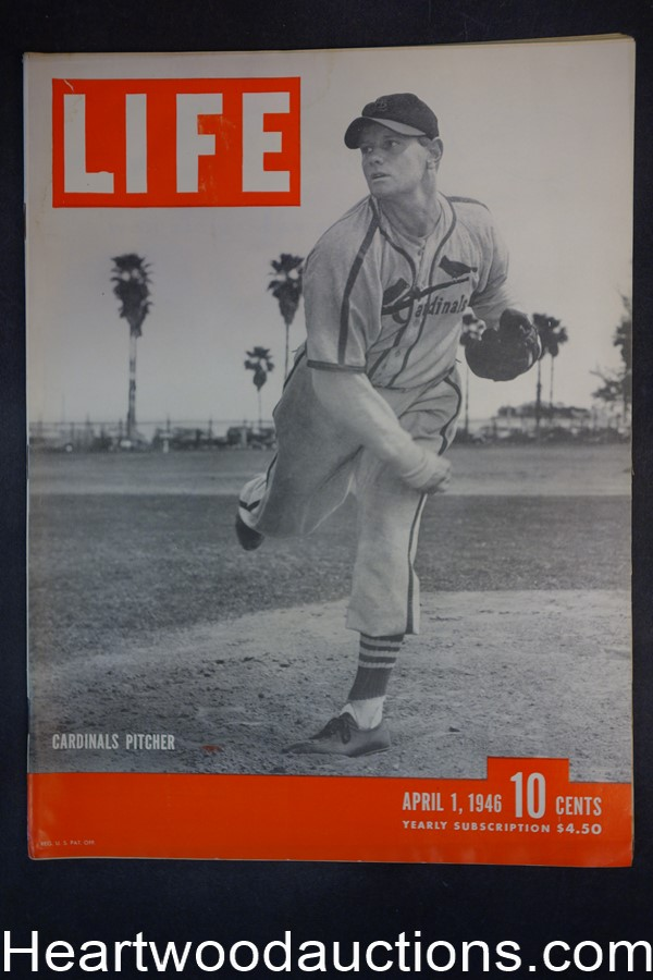 Life Apr 1, 1946 St. Louis Cardinals, Fuller House, Groucho Marx, Pearl Harbor