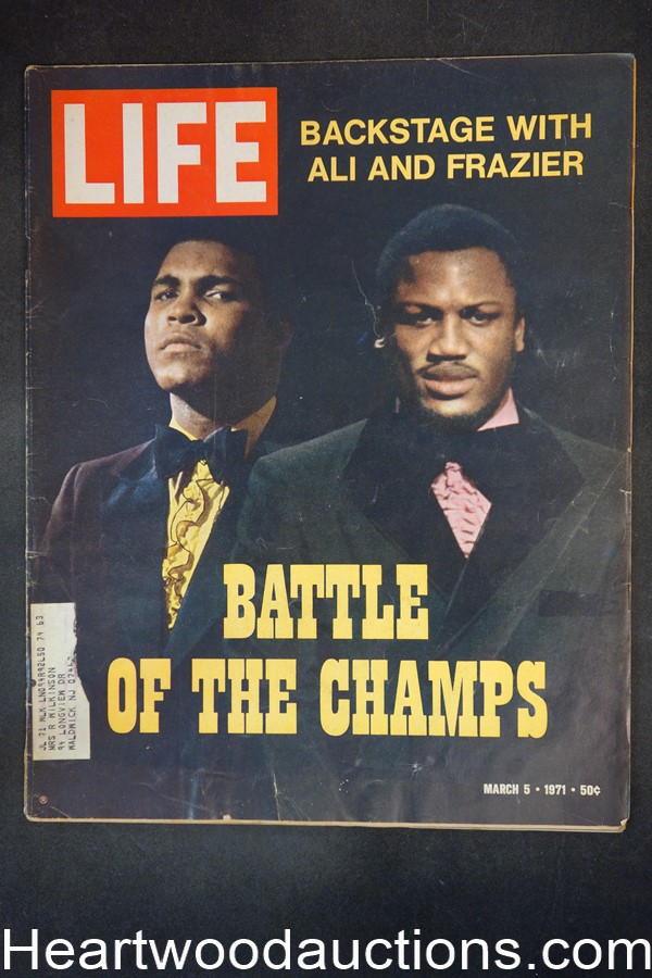 Life Mar 5, 1971 Muhammad Ali vs. Joe Frasier, Timothy Dalton, ski bunnies Aspen