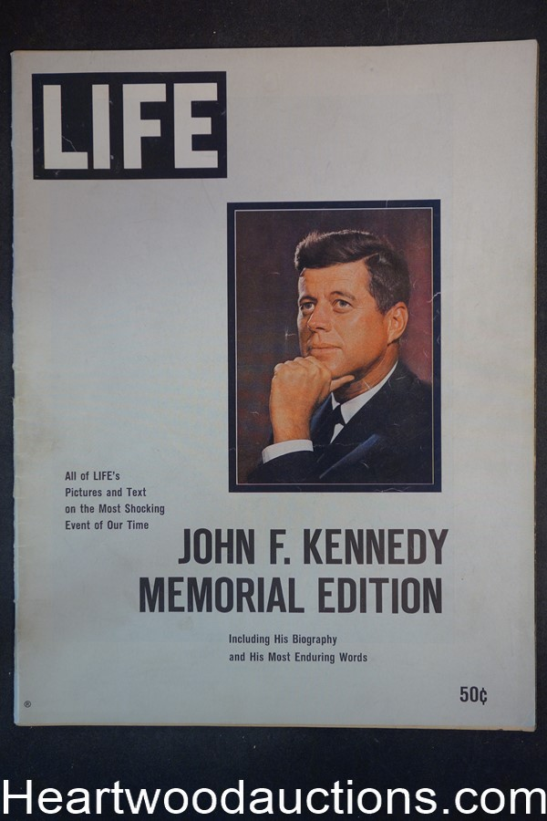 Life Annual 1963 John F. Kennedy Memorial Issue