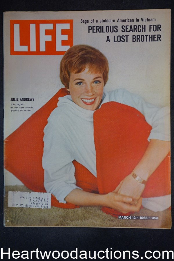 Life Mar 12, 1965 Julie Andrews, Sound of Music, Bobby Vinton