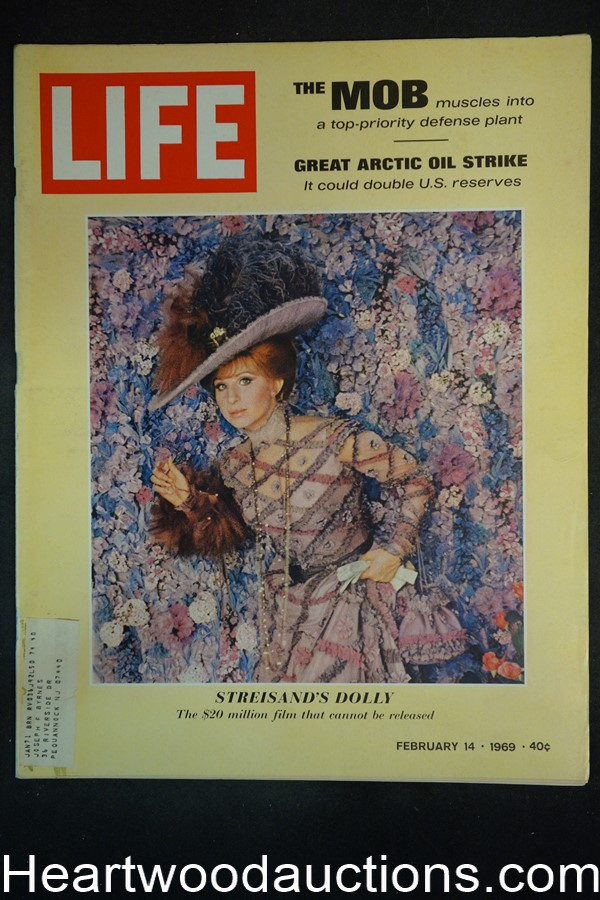 Life Feb 14, 1969 Barbara Streisand,