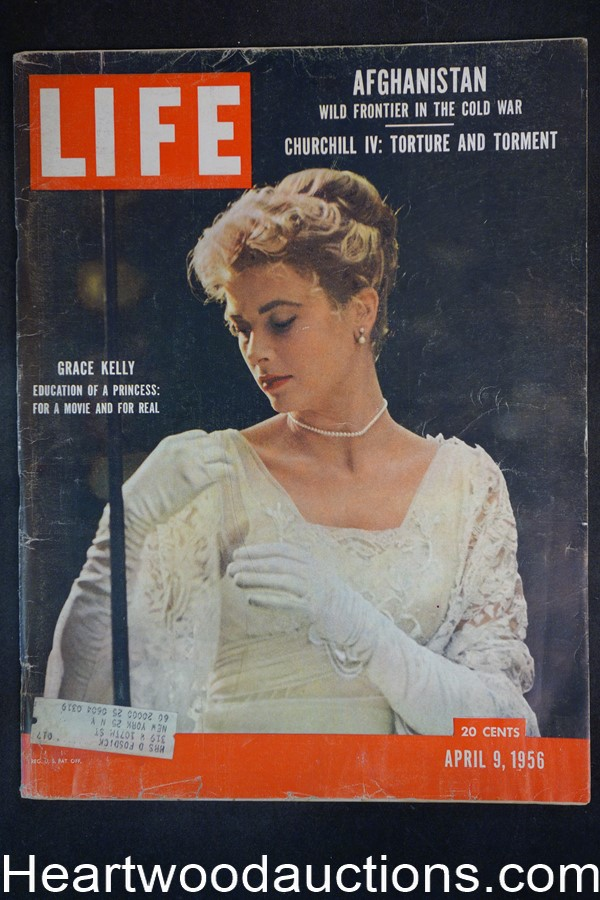 Life Apr 9, 1956 Grace Kelly, Winston Churchill, Jimmy Hoffa