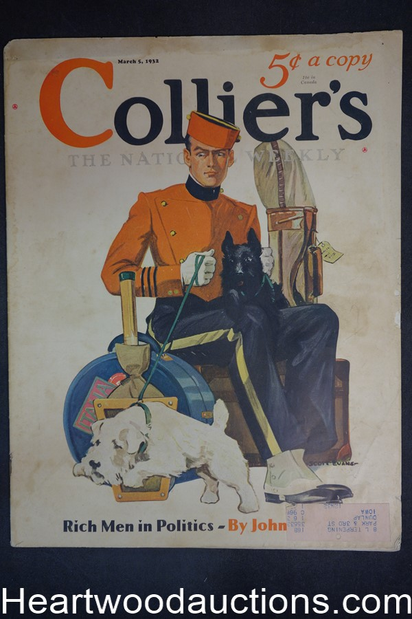 Collier's Mar 5, 1932 Adolph Hitler, Baseball, Boxing