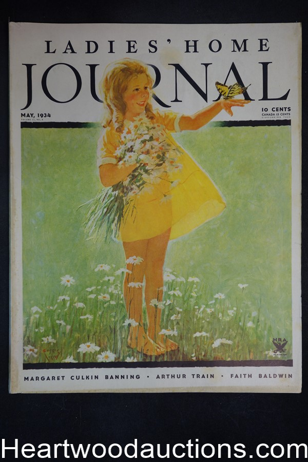 Ladies Home Journal May 1934 Eugene Iverd cover