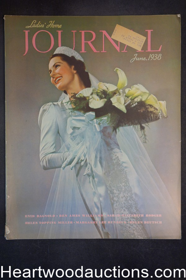 Ladies Home Journal Jun 1938 Victor Keppler cover
