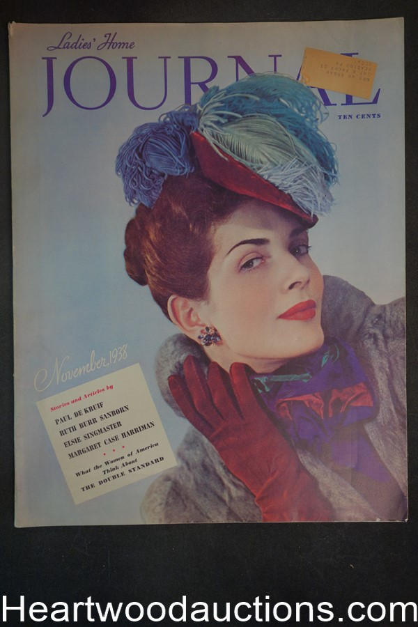 Ladies Home Journal Nov 1938 - High Grade