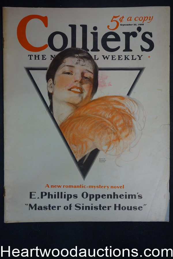 Collier's Sep 22, 1928 Bradshaw Crandall Cover