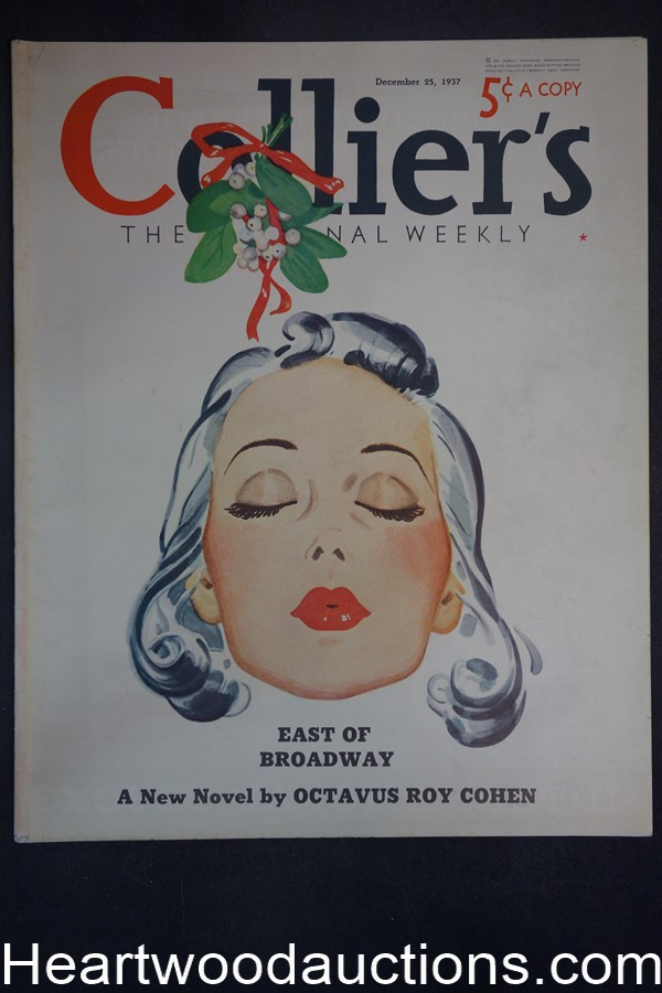Collier's Dec 25, 1937 George F. Worts