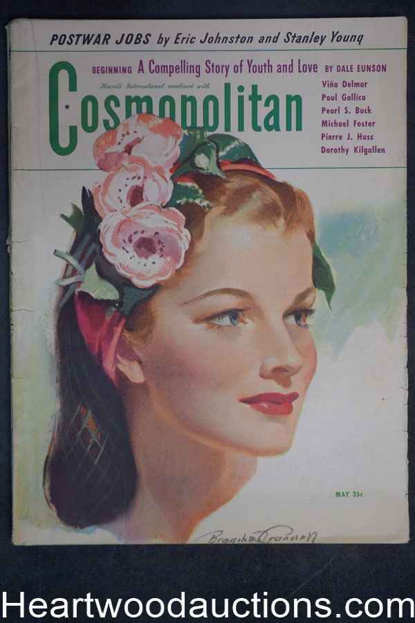 Cosmopolitan May 1944 Pearl S. Buck
