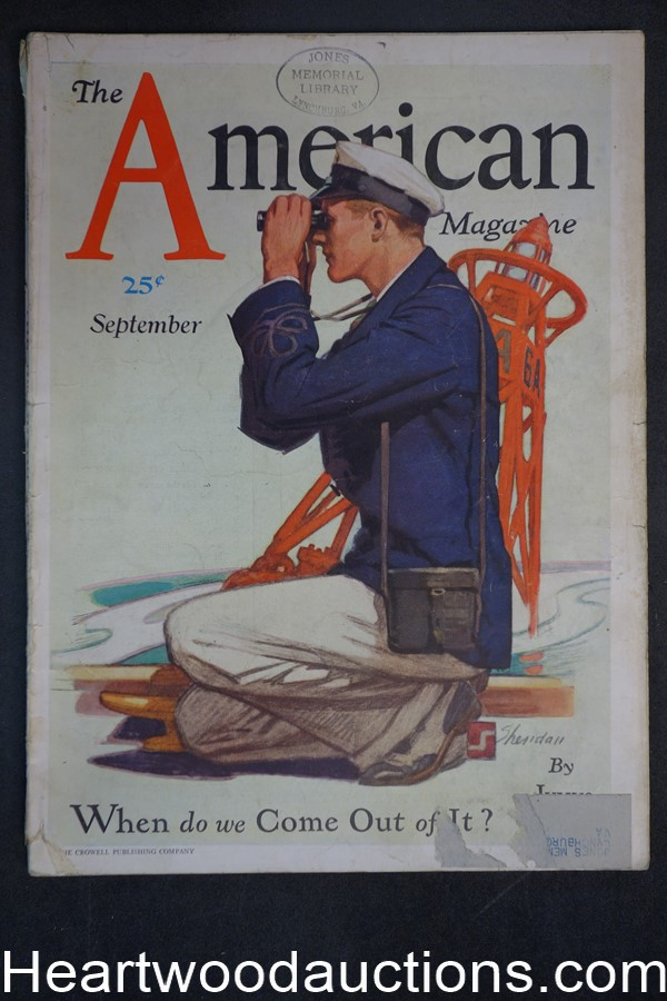 American Sep 1930 Great Depression, Will Rogers, Fiction, Vintage Ads