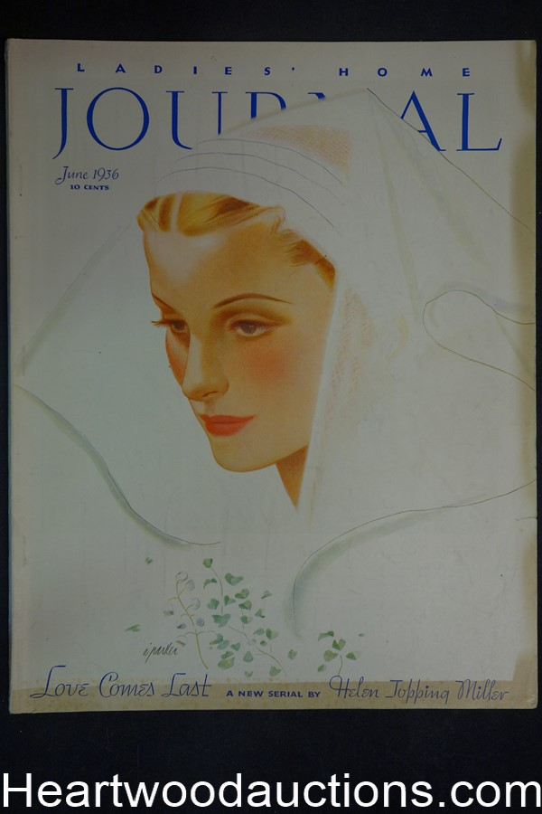 Ladies Home Journal Jun 1936 Al Parker cover