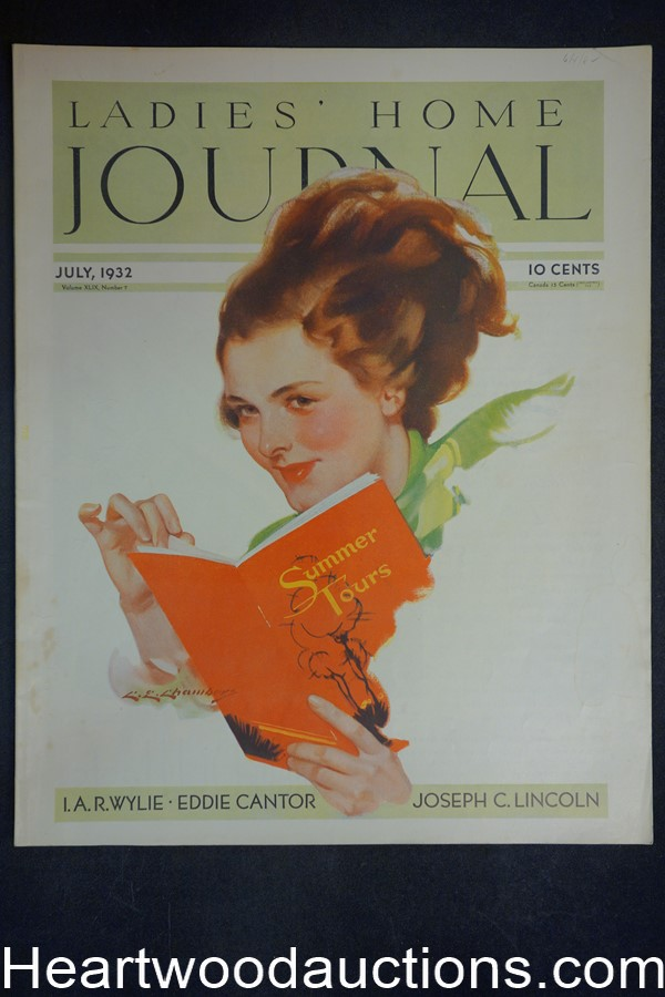Ladies Home Journal Jul 1932 C.E. Chambers cover