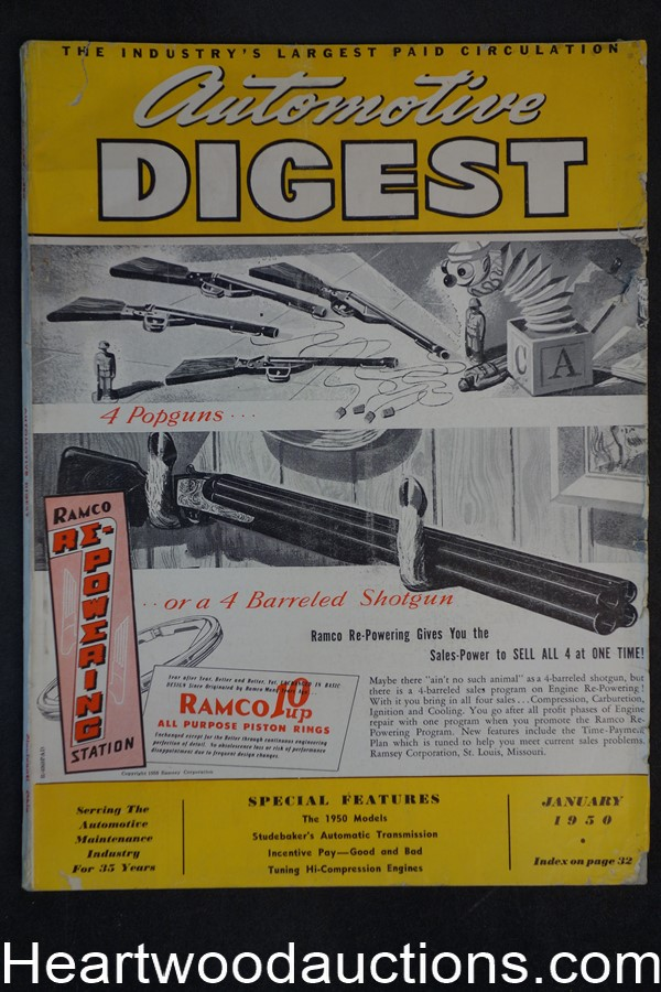 Automotive Digest Jan 1950