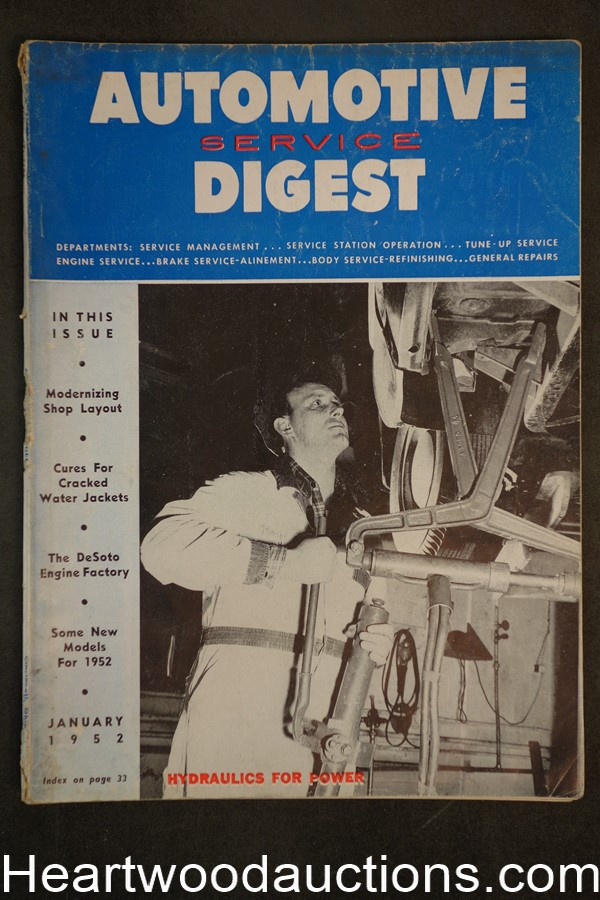 Automotive Digest Jan 1952