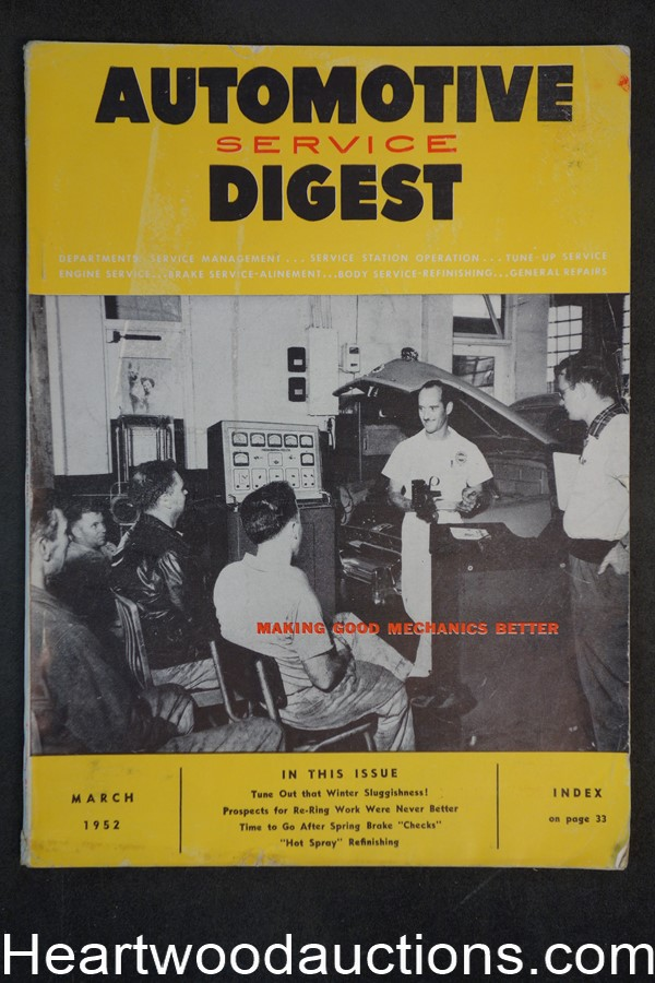 Automotive Digest Mar 1952